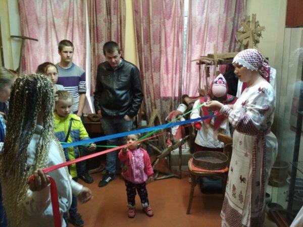 В Максатихинском крееведческом музее прошла всероссийская акция «Ночь музеев»