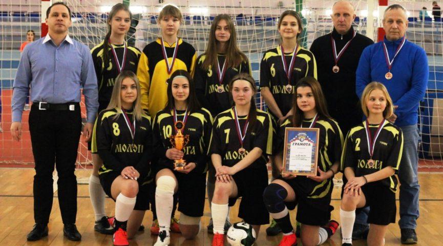 Футболистки из Максатихи стали призерами первенства «Золотого кольца»
