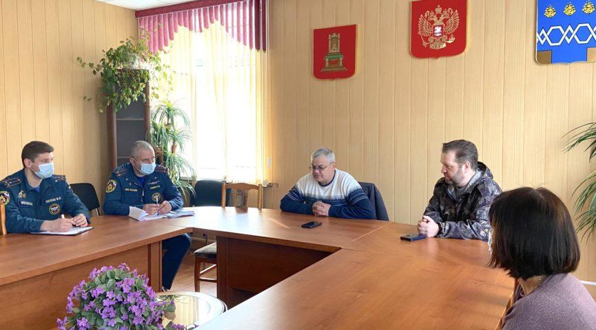 На территории Максатихинского района завершились командно-штабные учения