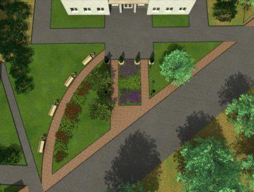 У здания гостиницы Молога посёлка Максатиха благоустроят общественную территорию