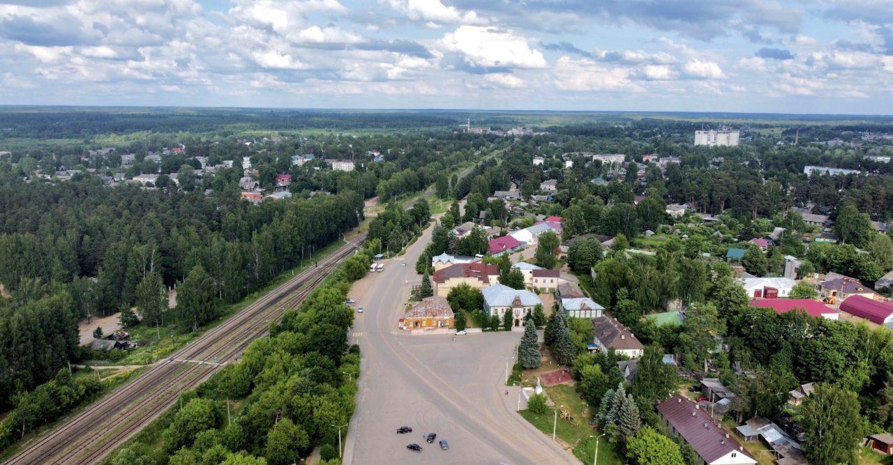 Городское поселение посёлок Максатиха